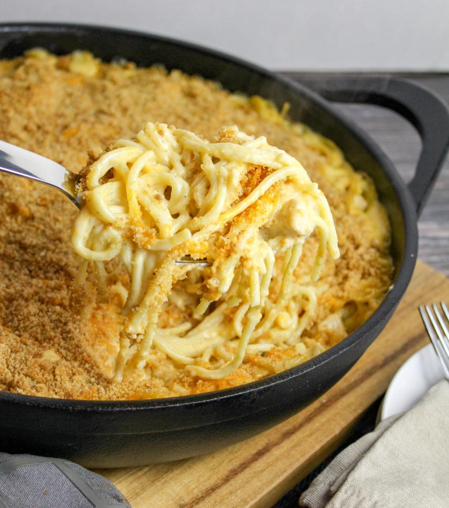 casserole in a baking dish