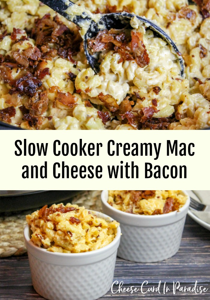 mac and cheese in a slow cooker