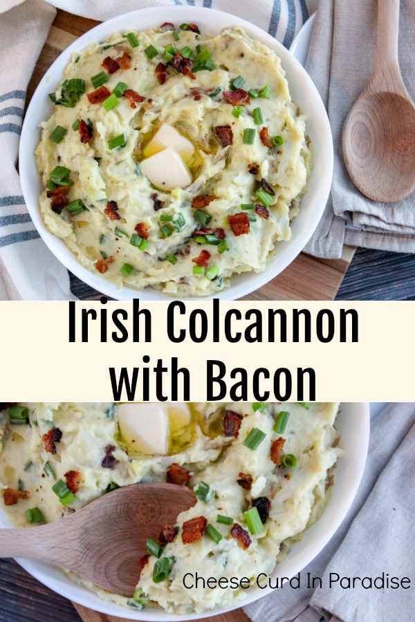 Colcannon in a bowl