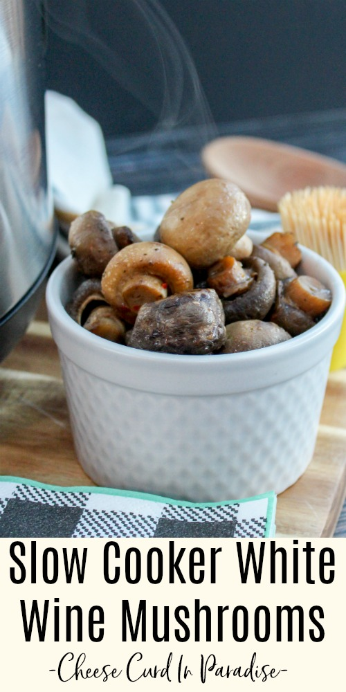 mushrooms in a white bowl