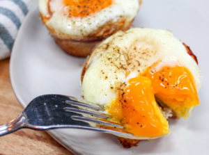 eggs on a plate