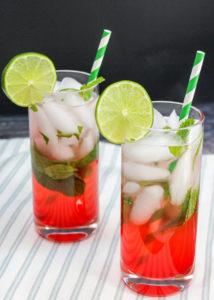 mojito in a glass