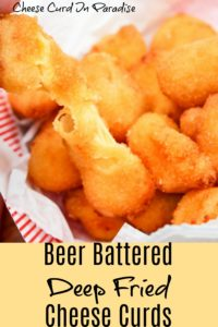 cheese curds in a basket