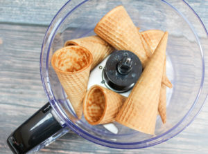 cones in food processor