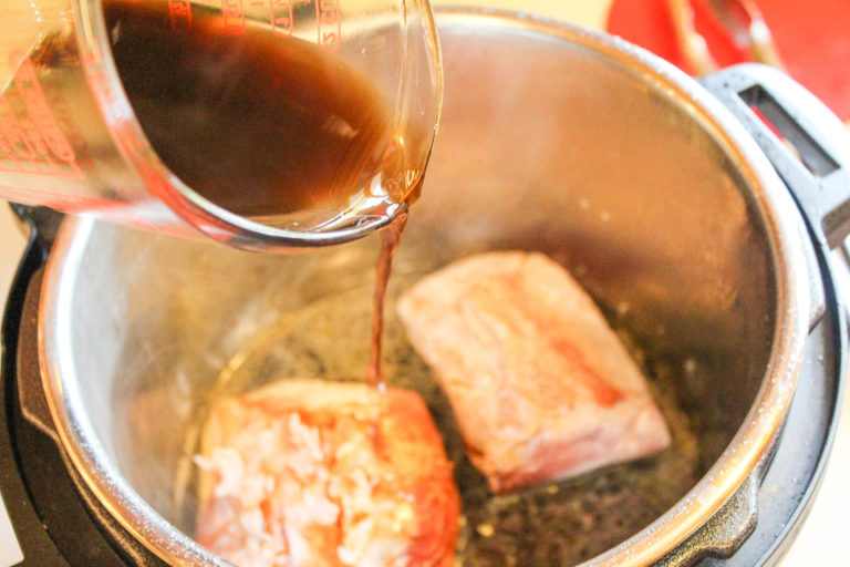 pork in an instant pot