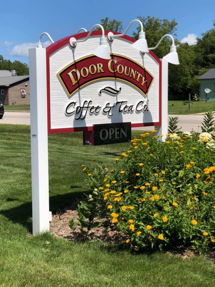 door county coffee location photo