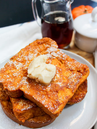 french toast on a plate