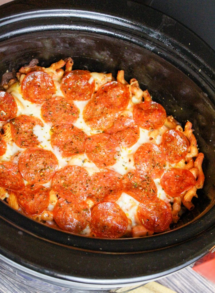 casserole in slow cooker