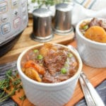stew in a bowl