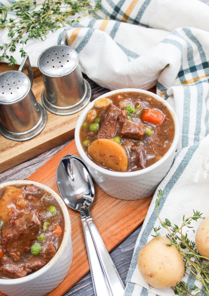 Stew in Bowls