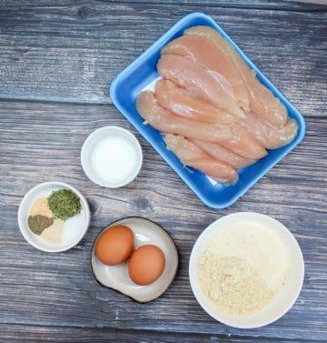 ingredients for chicken tenders