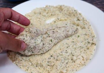 chicken tender preparation breading