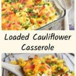 Baked cauliflower casserol