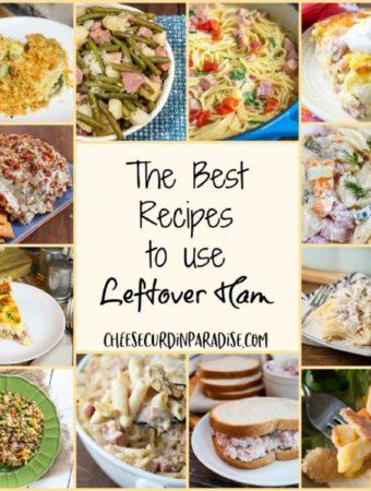 Ham Recipe Round-Up Collage